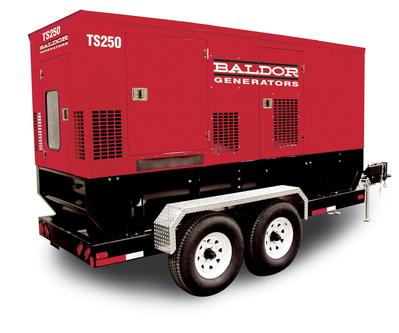 Baldor Towable Power Generation Systems